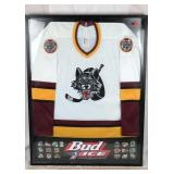 IHL and Budweiser Wolverines Jersey in Frame