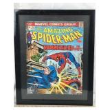 The Amazing Spider-Man Poster in Frame