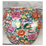Hand Painte Colorful Oriental Porcelain Flower Pot