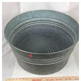 Galvanized Wash Tub