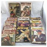 Detective, Western and Ranch Magazines From the