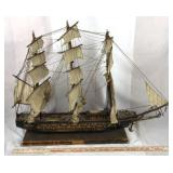 18th Century Spanish Warship Wood Model