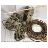 Rope and Copper Tubing