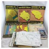 Vintage MD/VA/DC Street Map Books & More