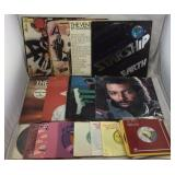 Collection of Vinyl Records- LPs & 45s