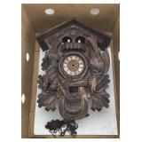 Vintage West German Cuckoo Clock