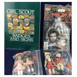X Files Comic, Girl Scout Badges Book, McDonalds