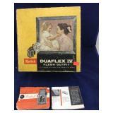 Boxed Vintage Kodak Duaflex IV Flash Outfit