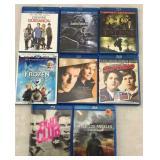 8 Blu Ray Movies