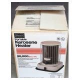 Portable Kerosene Heater 20,000 BTU