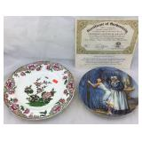 Late Spode Plate & Gone With The Wind Plate