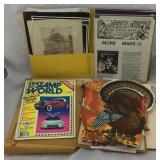Vintage Ephemera - Baseball, Advertisements