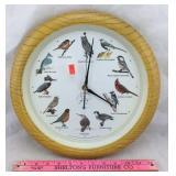 National Audubon Society Quartz Wall Clock