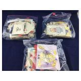 3 Bags of Very Vintage Childrens Greeting Cards