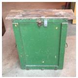 Vintage Boy Scout food storage chest