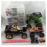 Matchbox/Hot Wheels Cars & Monster Trucks