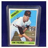 Jim Palmer 1966 Topps 126 Baseball Card