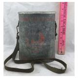 Old Metal Minnow Container