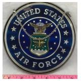 Small Stained Glass Air Force Emblem