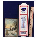 Two Vintage Thermometers