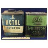Vintage Oil Cans