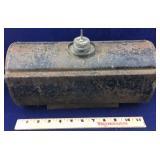 Antique Metal Kerosene Tank