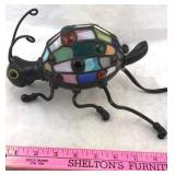 Tiffany Style Stained Glass Insect Lamp