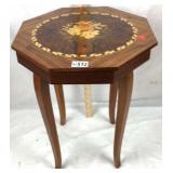 Inlaid style music box Sewing storage table