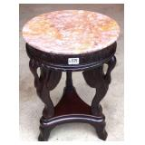 Brand new Le Millie marble top swan table