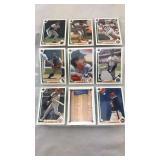 Nine 1991 Upper Deck Baseball Cards