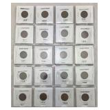 20 Wheat Pennies - Various Dates