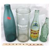 Vintage Bottles: RC Cola, Coca-Cola, Etc.