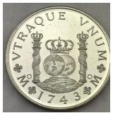 Chile 8 Reales 1743 Replica