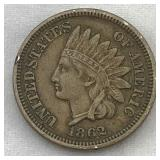 """Fatty?? 1862 Indian Head Cent"