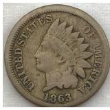 "1863 ""Fatty"" Indian Head Cent"