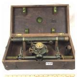 Antique Baltimore surveying transit scope