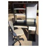 IKEA Computer Desk with Office Chair