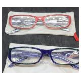 2 Pairs of Never Worn  JM New York Reading Glasses