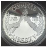 United States Mint 1988 Olympics Proof Silver