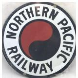 Northern Pacific Railway Sign - Reproduction