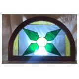 Stained Glass Window Arches
