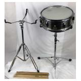 Pearl Snare Drum with 2 Stands and 8 Drumsticks