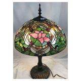 Tiffany style dragonfly Stained glass parlor lamp