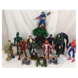 Lot of 12 marvel superheroes and villains