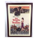Vintage Errol Flynn movie poster