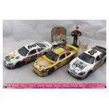 3 Die-cast NASCAR Cars and More