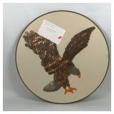 Unique Eagle Art made from Pennies and Dimes
