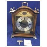Large Vintage Bulova Mantle Clock Made in Germany