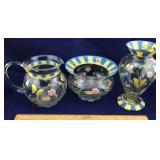 Lenox Butterfly Meadow Bowl, Pitcher, Vase