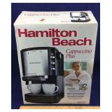 Hamilton Beach Cappuccino-Plus Machine NIB